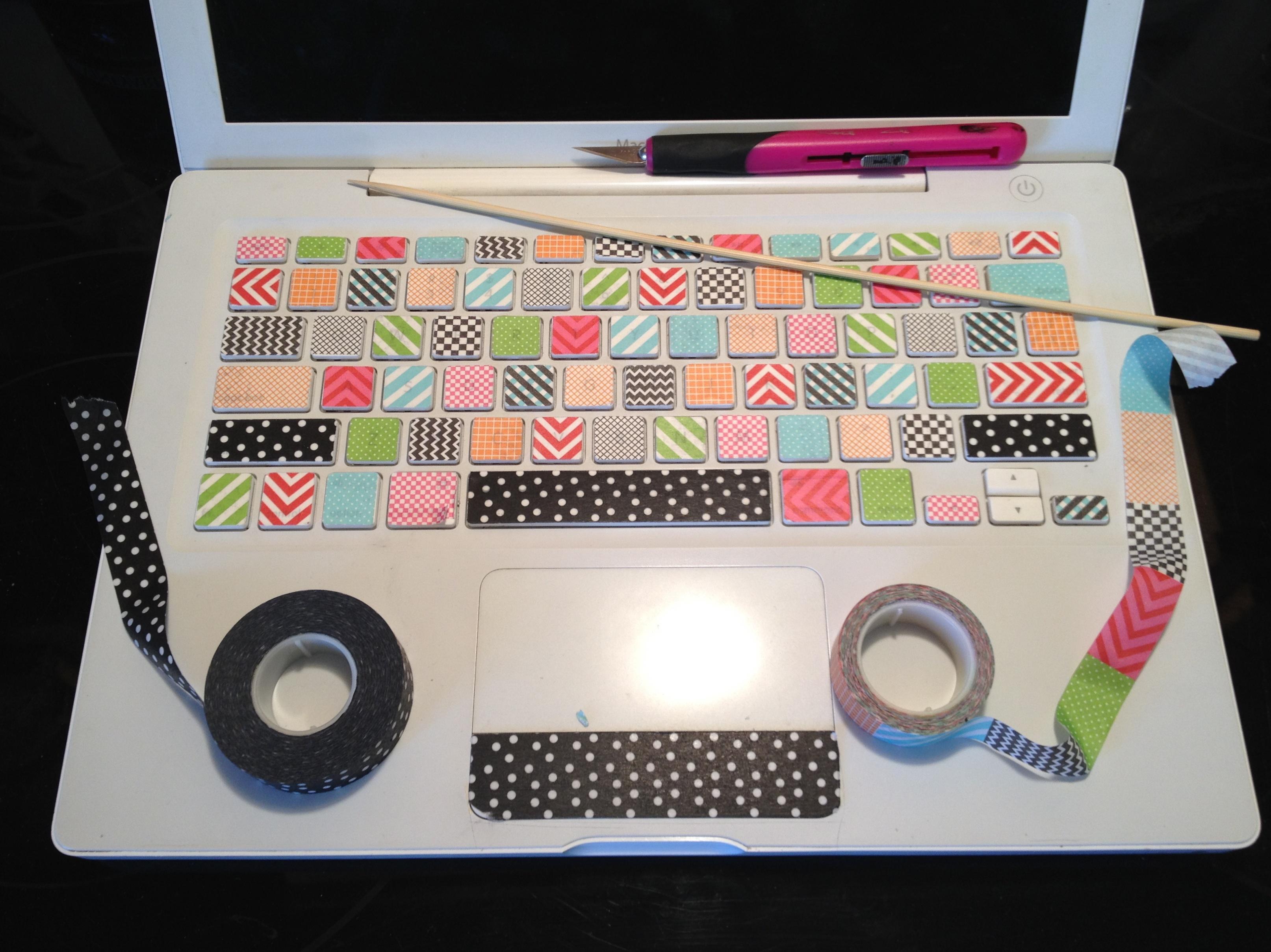 Favoloso washi tape macbook keyboard | westsinister ABBEY UQ32